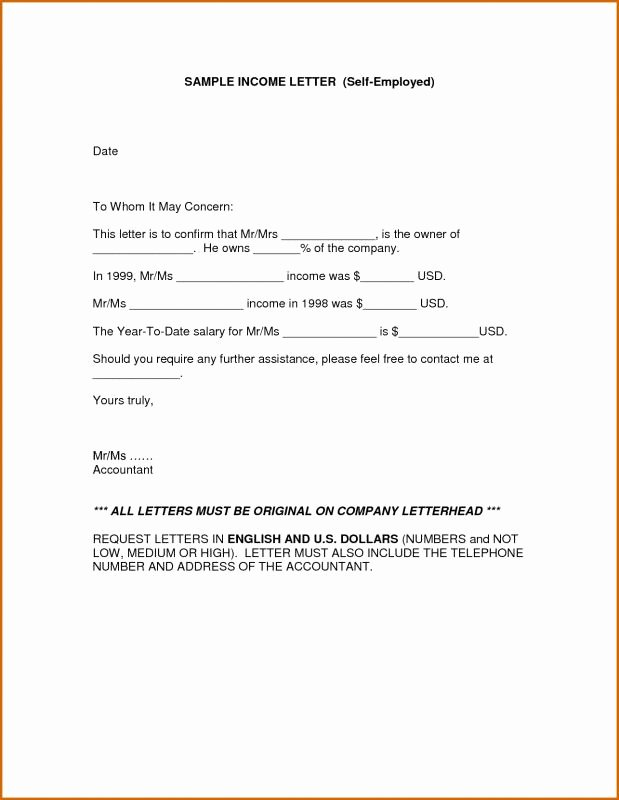 Wage Verification form Template Elegant Proof In E Letter