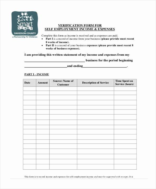 Wage Verification form Template Inspirational Verification form Templates