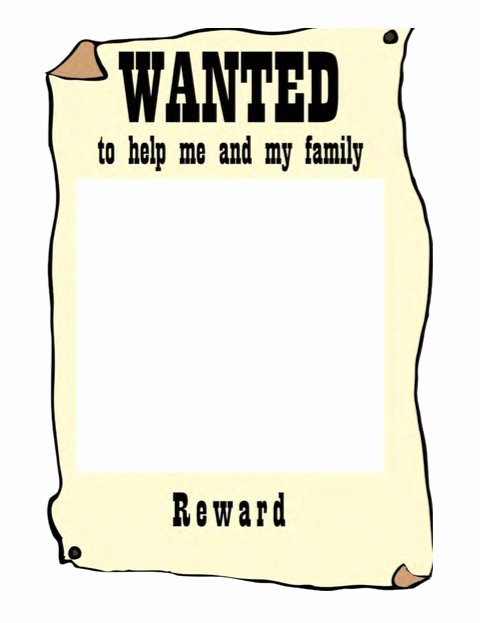 Wanted Poster Template Free Luxury 18 Free Wanted Poster Templates Fbi and Old West Free