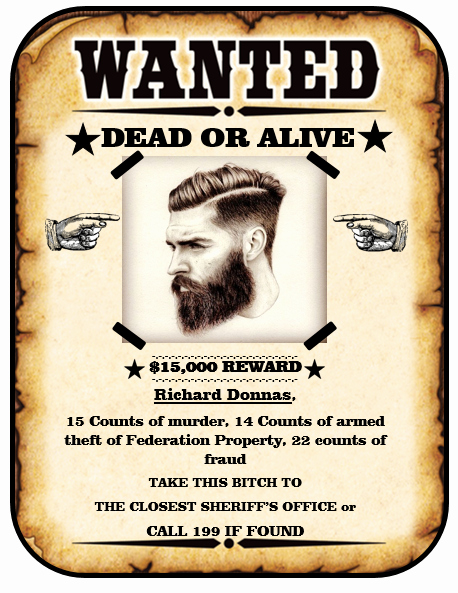 Wanted Poster Template Free New 13 Free Wanted Poster Templates Printable Docs