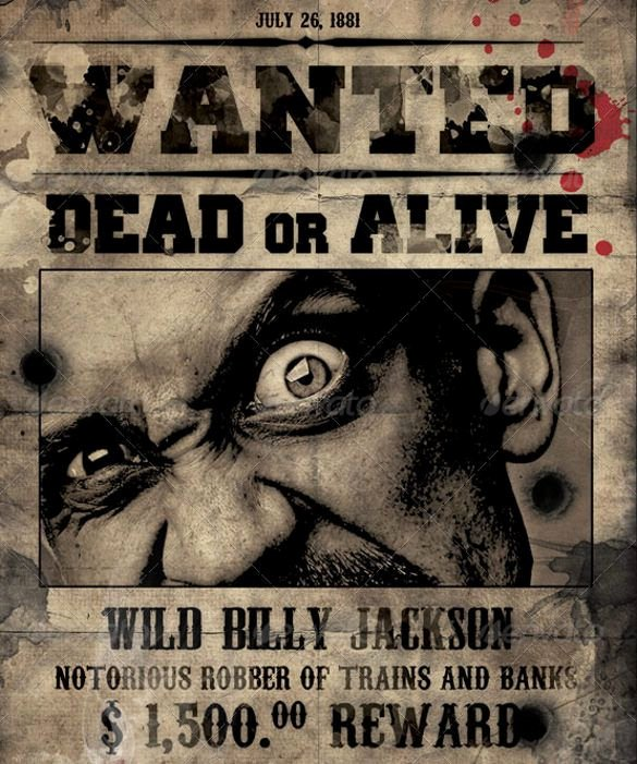 Wanted Poster Template Free Unique 1000 Ideas About Movie Poster Template On Pinterest