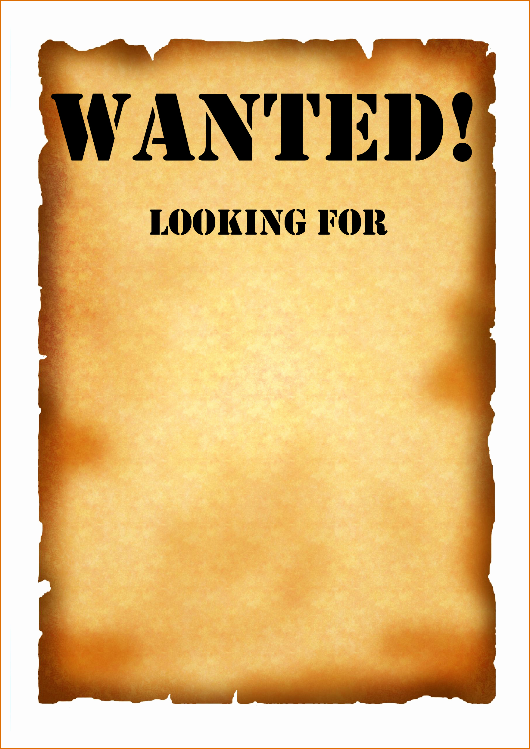 Wanted Poster Template Pdf Awesome 7 Wanted Poster Template Pdf