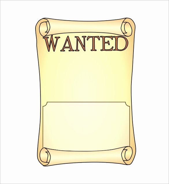 Wanted Poster Template Pdf Fresh 14 Blank Wanted Poster Templates Free Printable Sample