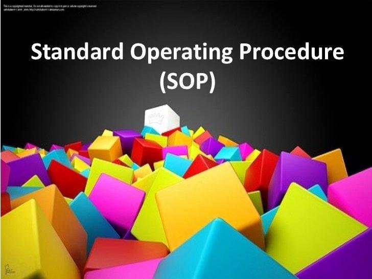 Warehouse Standard Operating Procedures Template Awesome Standard Operating Procedure