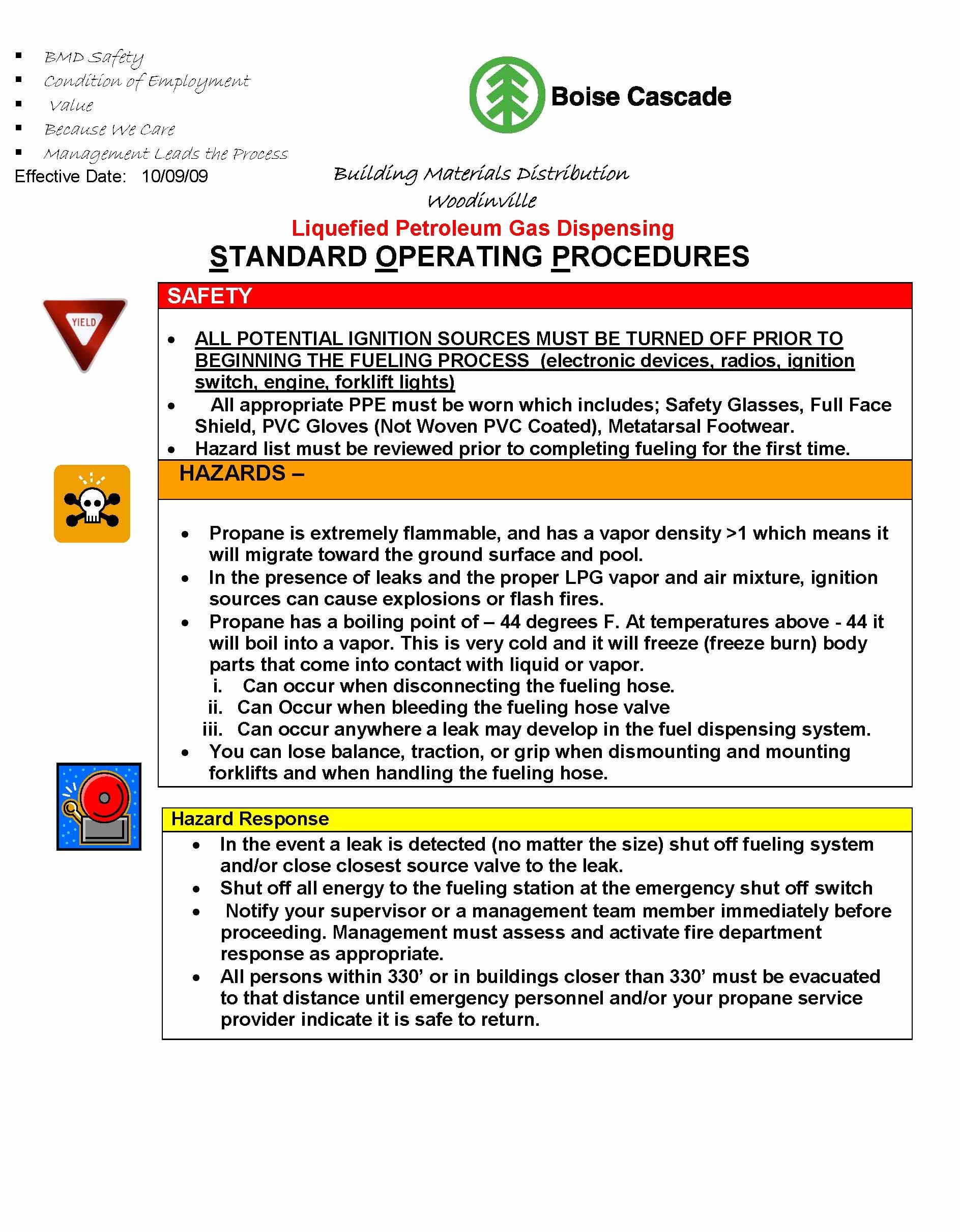 Warehouse Standard Operating Procedures Template Fresh Download sop Template Free Warehouse Avenue