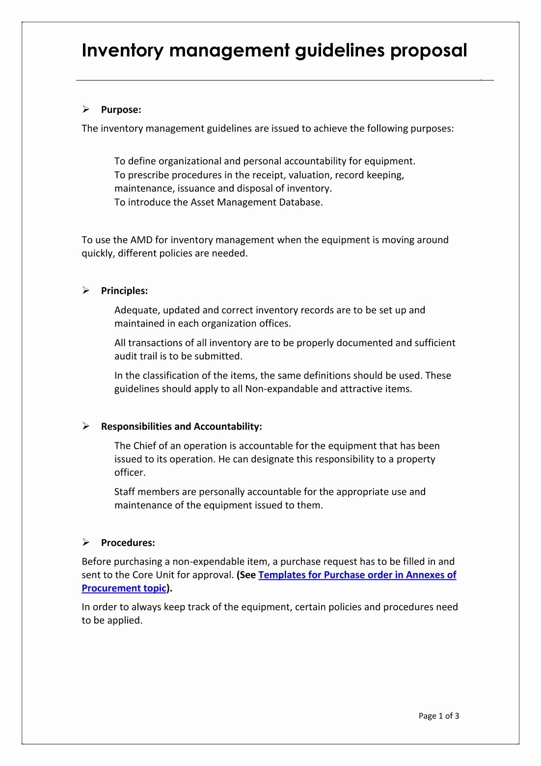 Warehouse Standard Operating Procedures Template Luxury Scope Of Inventory Control Inventory Manager Job