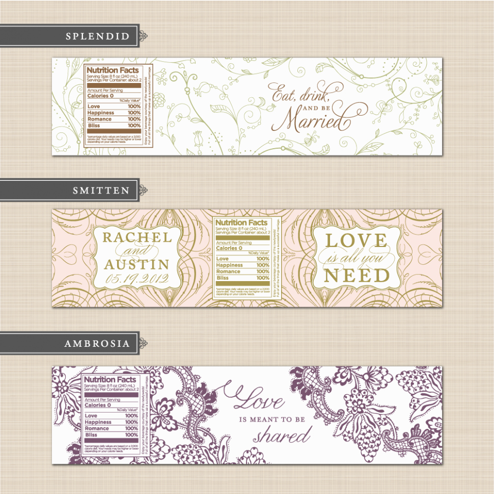 Water Bottle Labels Template Inspirational 15 Reasons why Bottle Label