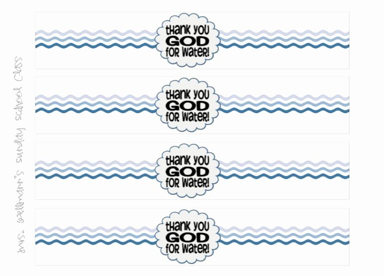 Water Bottle Labels Template New 22 Custom Printable Water Bottle Labels