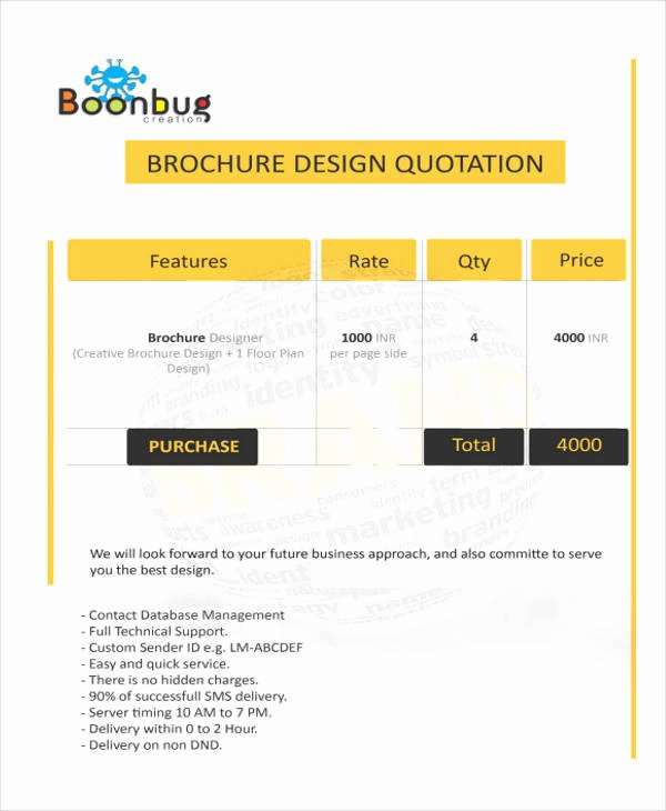 Web Design Quotes Template Beautiful 16 Free Design Quotation Templates Ms Fice Documents
