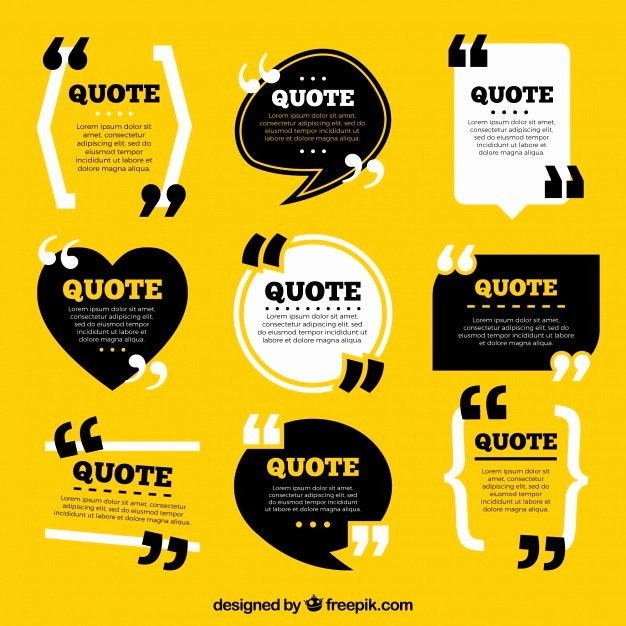 Website Design Quote Template New Quote Vectors S and Psd Files