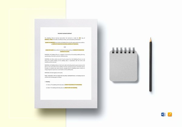 Wedding Band Contract Template Fresh 16 Music Contract Templates Free Word Pdf Documents