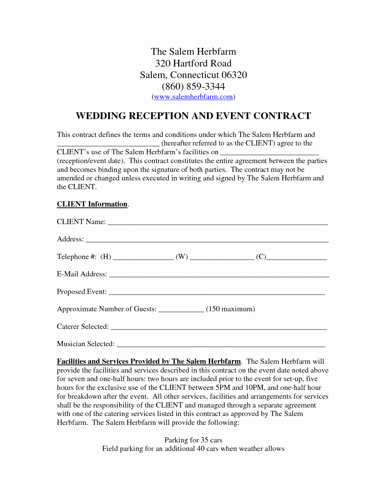 Wedding Band Contract Template Unique Wedding Venue Contract Template – Emmamcintyrephotography