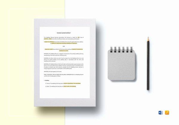 Wedding Dj Contract Template New 16 Dj Contract Templates Pdf Word Google Docs Apple