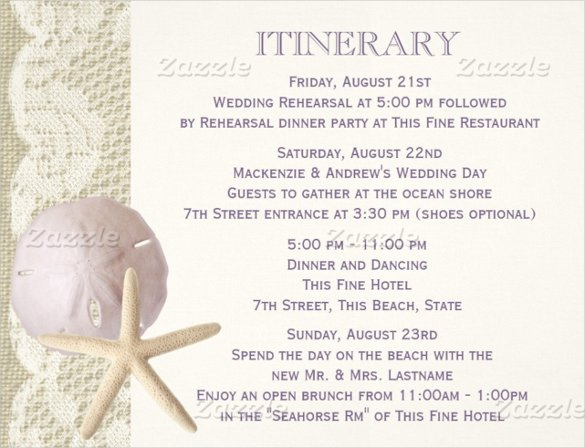 Wedding Itinerary Template Free Awesome 44 Wedding Itinerary Templates Doc Pdf Psd