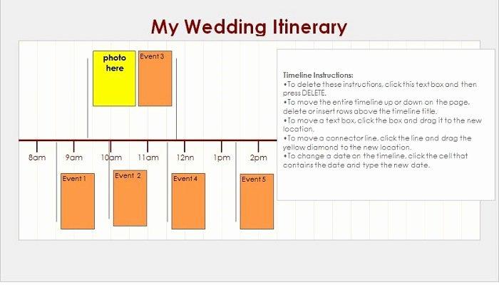 Wedding Itinerary Template Free Inspirational 37 Free Beautiful Wedding Guest List & Itinerary Templates