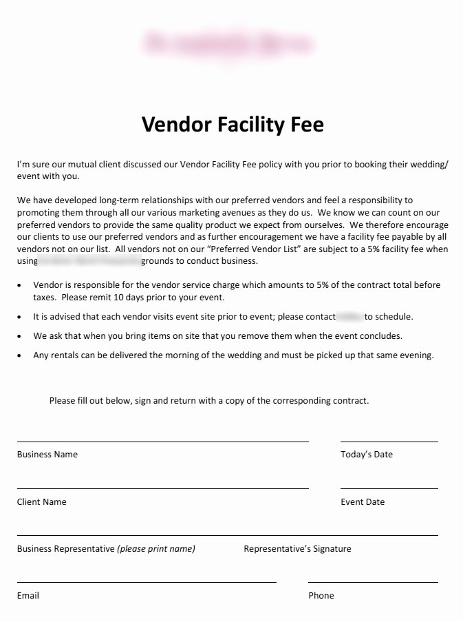 Wedding Vendor Contract Template Awesome 5 Things Every Bride & Groom Needs to Know About Preferred