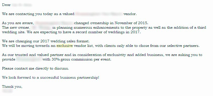 Wedding Vendor Contract Template Unique 5 Things Every Bride & Groom Needs to Know About Preferred