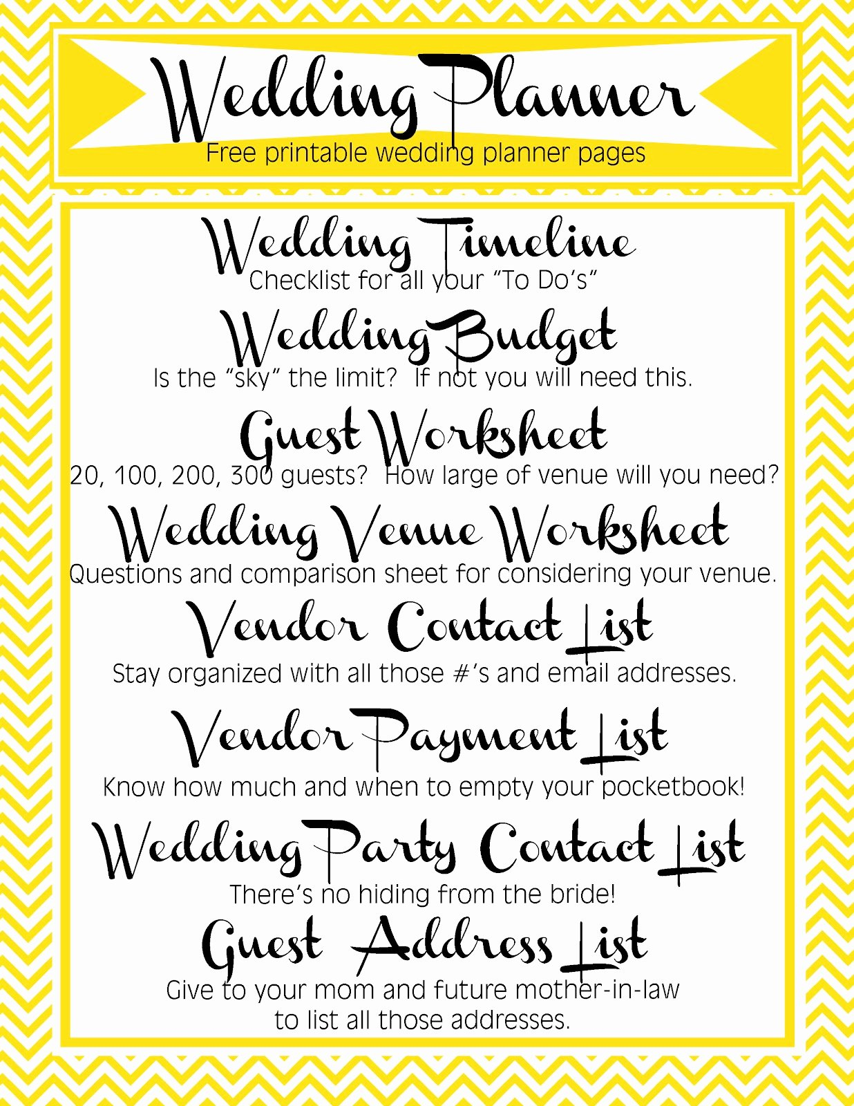 Wedding Vendor List Template Beautiful Tro O Blogg the Yellow Wallpaper Quotes Marriage