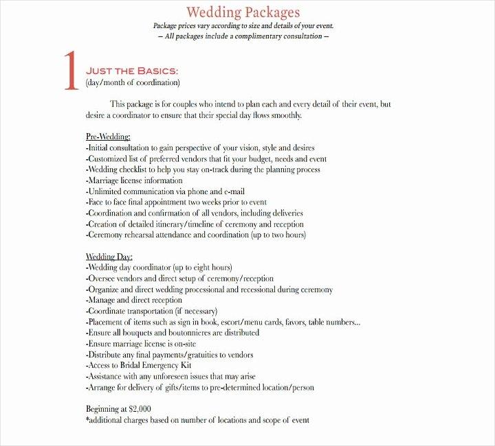 Wedding Vendor List Template Luxury 14 Wedding Schedule Templates Free Pdf Doc format