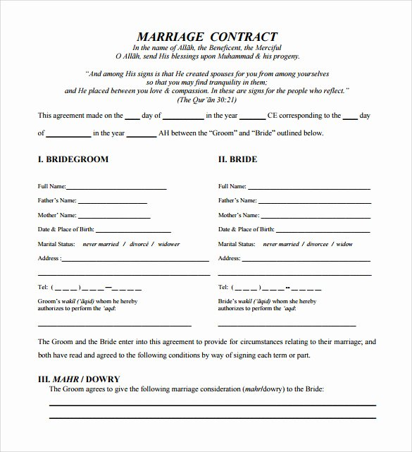 Wedding Venue Contract Template Elegant Sample Wedding Contract 25 Documents In Pdf Word
