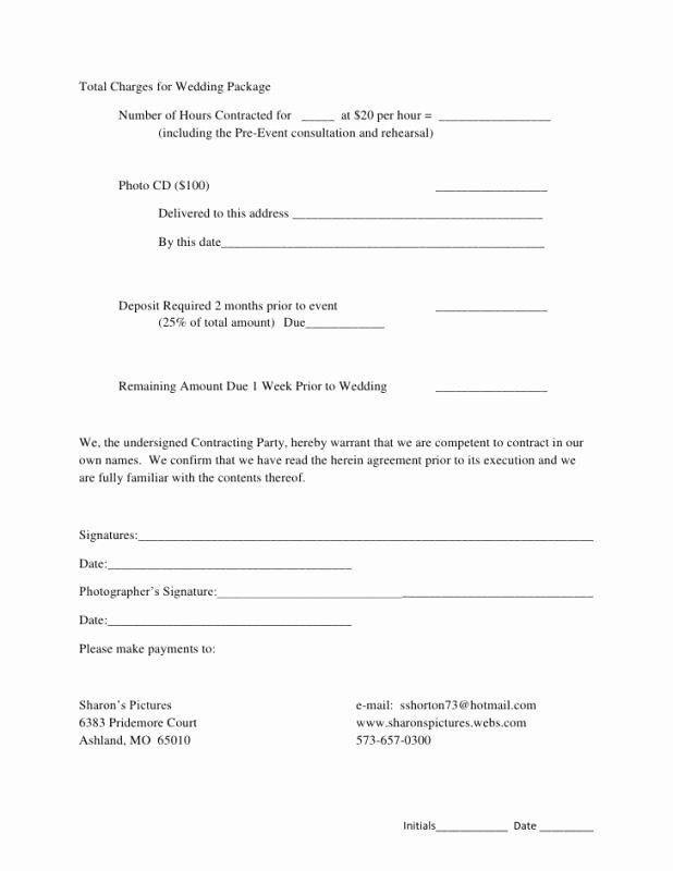 Wedding Venue Contract Template Luxury Wedding Venue Contract