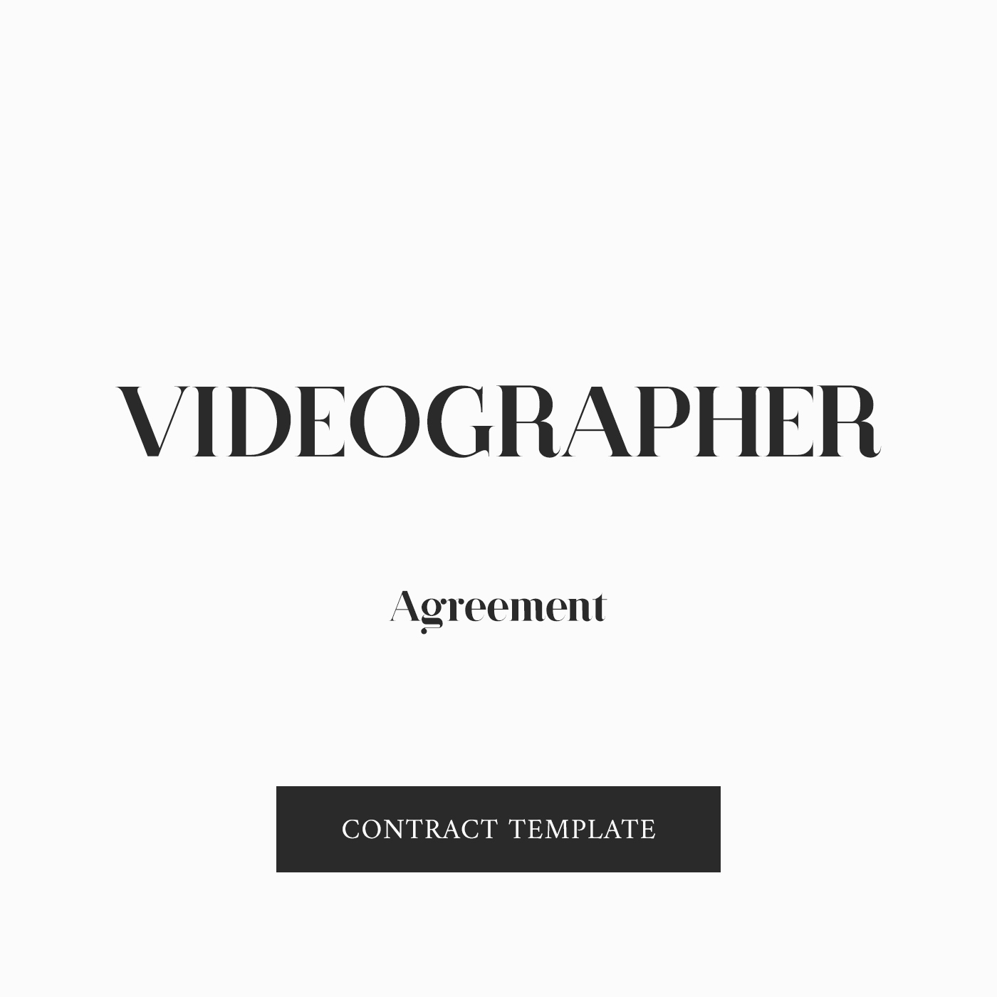 Wedding Videographer Contract Template Beautiful Videographer Contract Template Zara Watson Law