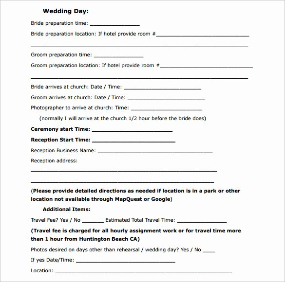 Wedding Videography Contract Template New Wedding Contract Template 23 Download Documents In Pdf