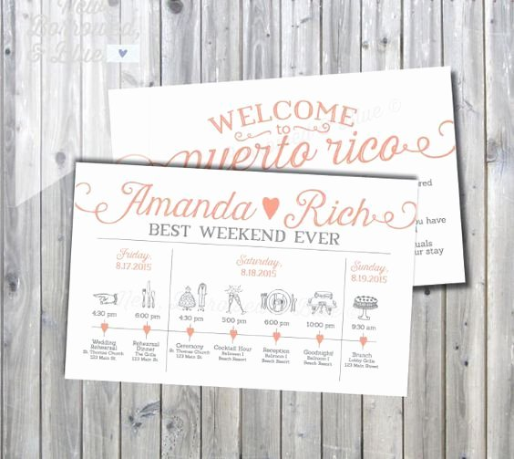 Wedding Weekend Itinerary Template Free Elegant Best 25 Wedding Itinerary Template Ideas On Pinterest