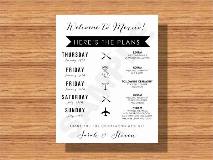Wedding Weekend Itinerary Template Luxury 44 Wedding Itinerary Templates Doc Pdf Psd