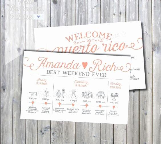 Wedding Weekend Itinerary Template Luxury Best 25 Wedding Itinerary Template Ideas On Pinterest