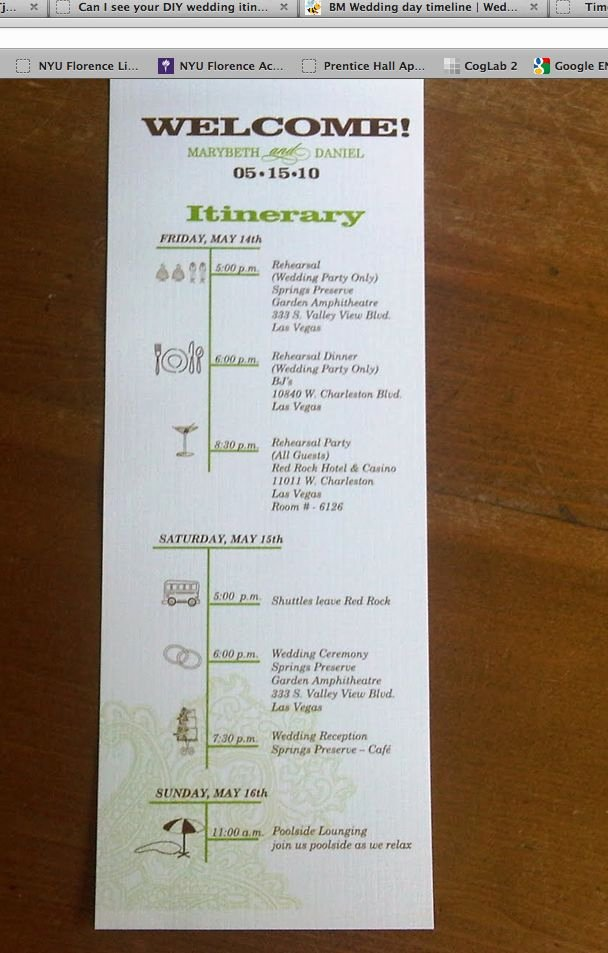Wedding Weekend Itinerary Templates Elegant Destination Wedding Itinerary Template