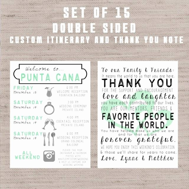 Wedding Weekend Timeline Template Awesome Destination Wedding Wel E Bag Letters and Guest