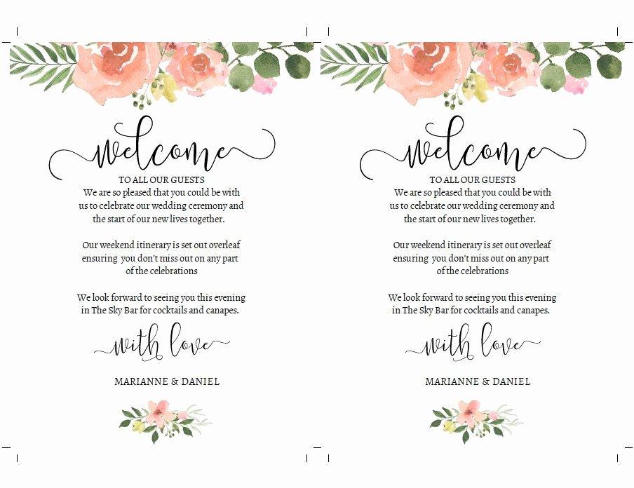 Wedding Weekend Timeline Template Lovely Diy Wedding Weekend Timeline Template Pink Rose Itinerary