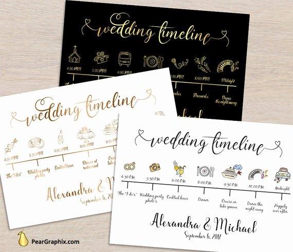 Wedding Weekend Timeline Template Luxury Wedding Timeline Printable Wedding Day Timeline Wedding