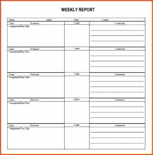 Weekly Activities Report Template Unique 9 Excel Call Log Template Exceltemplates Exceltemplates