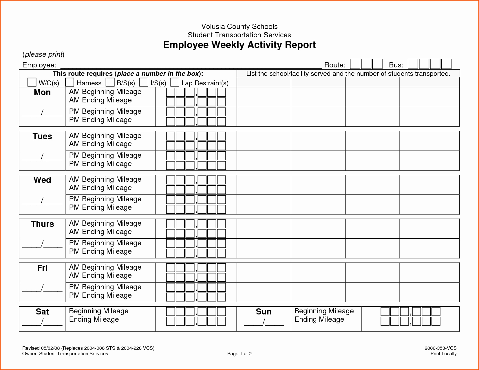 Weekly Activity Report Template Excel Lovely 8 Weekly Activity Report Template Bookletemplate