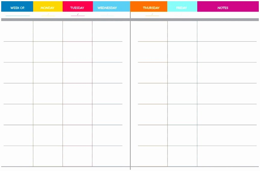 Weekly Lesson Plan Templates Elementary Elegant 10 Weekly Lesson Plan Templates for Elementary Teachers