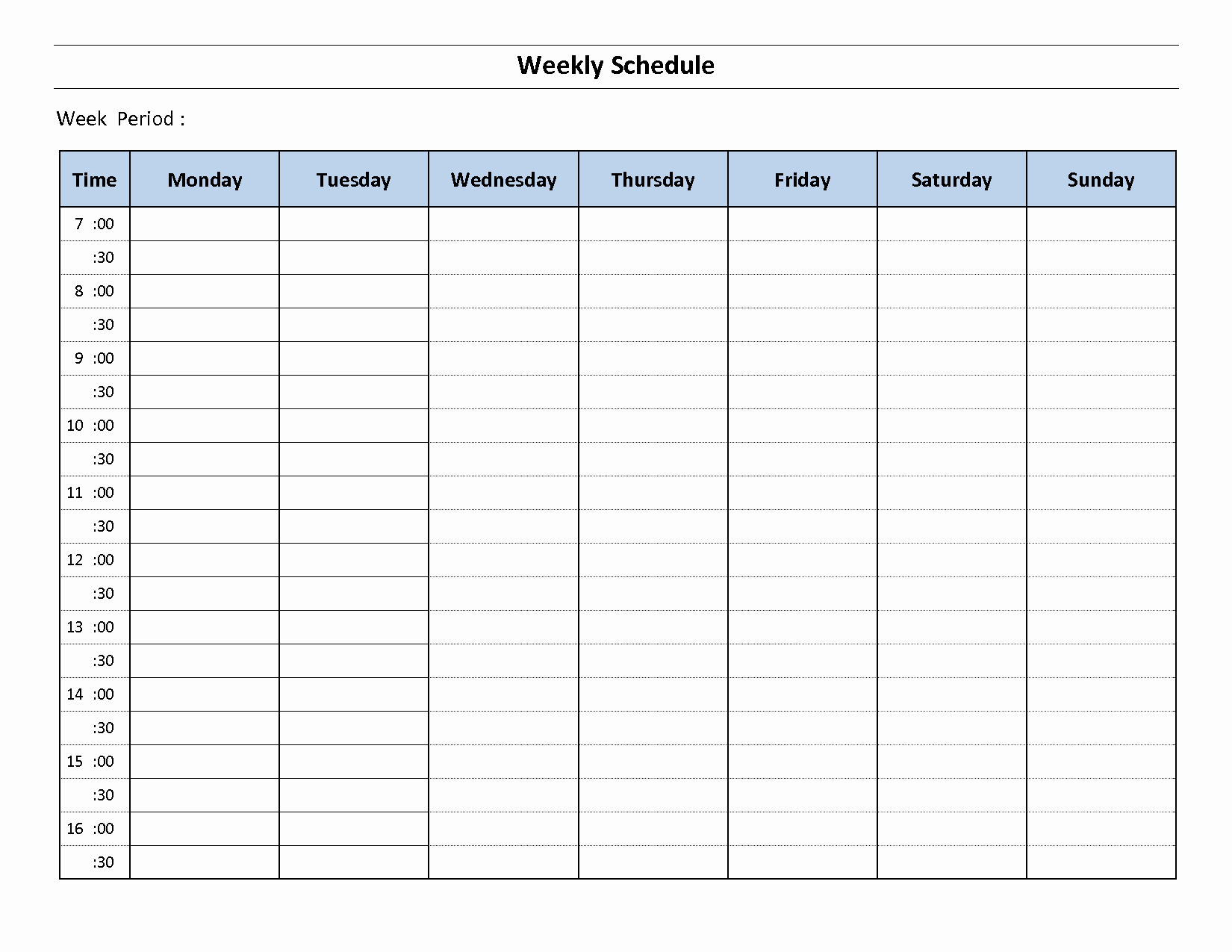 Weekly Schedule Template Pdf Beautiful Construction Schedule Template Excel Free Download