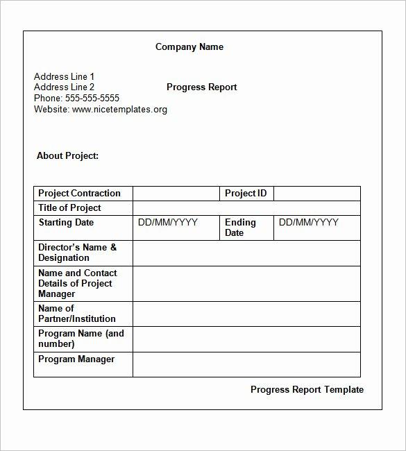 Weekly Status Report Template Word Inspirational Weekly Status Report Templates 30 Free Documents