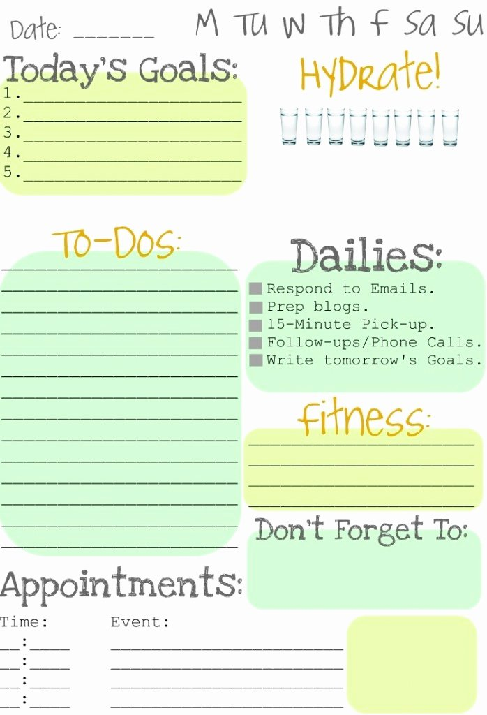 Weekly to Do List Templates Best Of Making to Do Lists Fun Clean and Scentsible