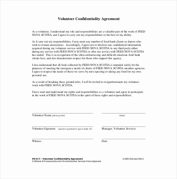 Word Employee Confidentiality Agreement Templates Elegant 24 Confidentiality Agreement Templates Doc Pdf Apple