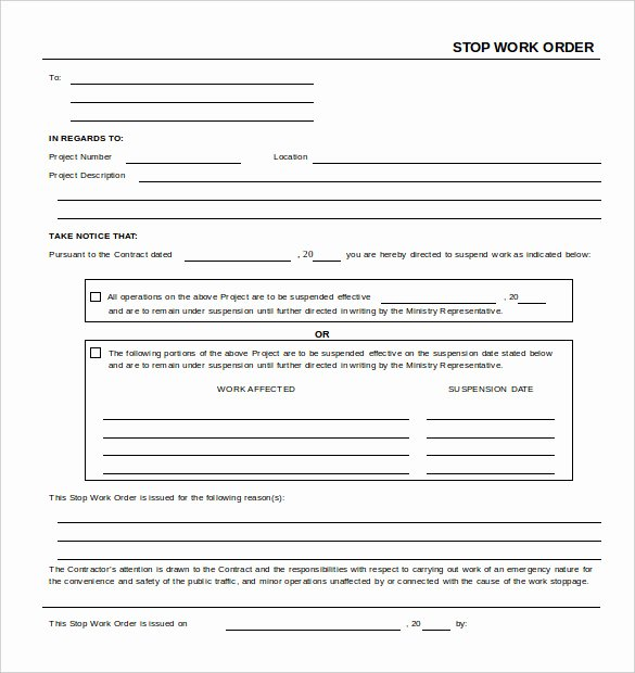 Work order Template Word Awesome 16 Work order Templates Word Google Docs