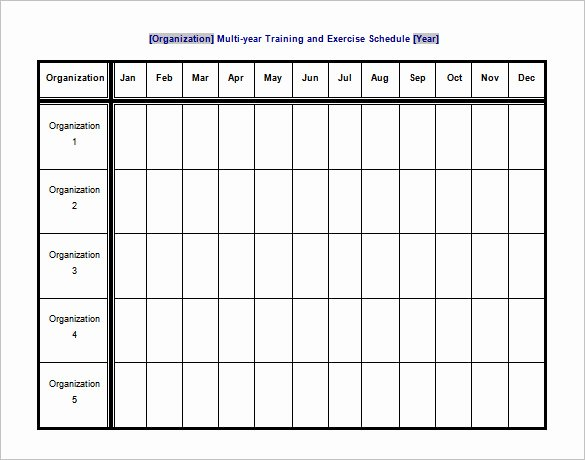 Work Out Schedule Template Best Of 10 Exercise Schedule Templates Docs Pdf