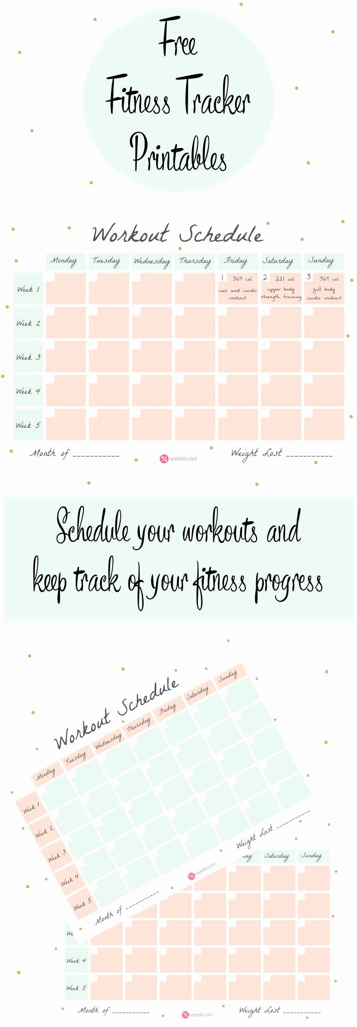 Work Out Schedule Template New Workout Schedule Template