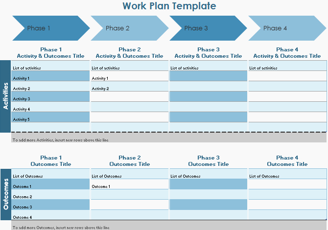Work Plan Template Word New 10 Powerful Excel Project Management Templates for Tracking