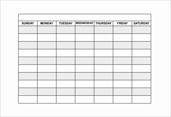 Work Schedule Template Pdf Inspirational Employee Shift Schedule Template 15 Free Word Excel