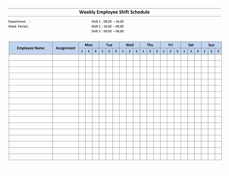 Work Schedule Template Pdf Inspirational Free Monthly Work Schedule Template