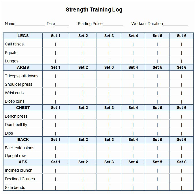 Workout Schedule Template Excel New 24 Workout Schedule Templates Pdf Docs