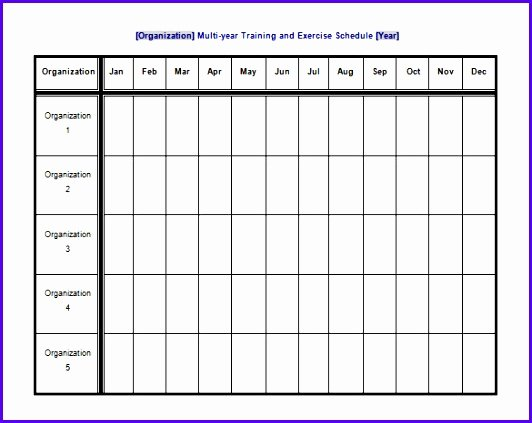 Workout Schedule Template Excel New 6 Workout Excel Template Exceltemplates Exceltemplates