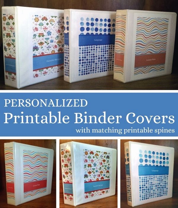 1 Binder Spine Template Awesome Free Personalized Printable Binder Covers